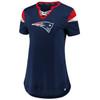 New England Patriots Navy Women's Iconic Team Athena T-Shirt
