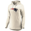 New England Patriots Cream Women's True Classics Signature Chenille Patch Hood