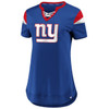 New York Giants Royal Women's Iconic Team Athena T-Shirt