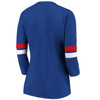 New York Giants Royal Women's Iconic Bi T-Shirt