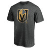 Vegas Golden Knights Charcoal Slash And Dash T-Shirt