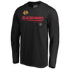 Chicago Blackhawks Black Seondary Prime Long Sleeve Shirt