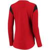 Chicago Blackhawks Red Iconic Bi-blend Lace Up Long Sleeve