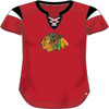 Chicago Blackhawks Red Iconic Athena Jersey Top