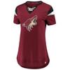 Arizona Coyotes Red Iconic Athena Jersey Top