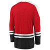New Jersey Devils Red Iconic Slapshot Long Sleeve Jersey