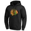 Chicago Blackhawks Black Core Cotton Hood