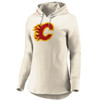 Calgary Flames Cream True Classics Signature Chenille Patch Hood