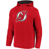 New Jersey Devils Red Iconic Poly Embossed Defender Hood