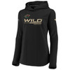 Minnesota Wild Black Women's Authentic Pro Travel Hood