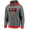 Carolina Hurricanes Gray True Classics Signature Fleece Chenille Hood