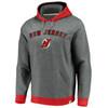 New Jersey Devils Gray True Classics Signature Fleece Chenille Hood