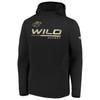 Minnesota Wild Black Authentic Pro Travel Hood