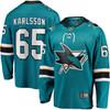 Erik Karlsson San Jose Sharks Teal Breakaway Jersey