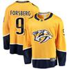 Filip Forsberg Nashville Predators Yelow Breakaway Jersey