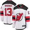 Nico Hischier New Jersey Devils White Breakaway Jersey