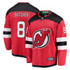 Will Butcher New Jersey Devils Red Breakaway Jersey