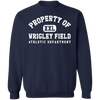 Property of Wrigley Field Athletic Dept Crewneck Sweatshirt