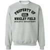 Property of Wrigley Field Athletic Dept. Crewneck Sweatshirt