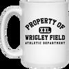 Property of Wrigley Field Athletic Dept. Mug