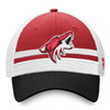 Arizona Coyotes Charcoal Draft Stripe Snapback Cap