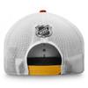 Calgary Flames Red Draft Stripe Snapback Cap