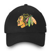 Chicago Blackhawks Black Core Structured Cap