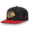 Chicago Blackhawks Black Iconic Defender Snapback