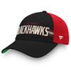 Chicago Blackhawks Black True Classic 2 Adjustable Cap