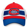 Montreal Canadiens Red Draft Stripe Snapback Cap