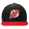 New Jersey Devils Black Flat Snapback