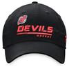 New Jersey Devils Black Women's Adjustable Slouch Cap