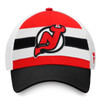 New Jersey Devils Red Draft Stripe Snapback Cap