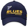 St. Louis Blues Navy Lcoker Room Slouch Adjustable Cap