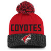 Arizona Coyotes Charcoal Women's Iconic Beanie Pom