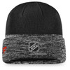 Chicago Blackhawks Black Locker Room Cuffed Beanie
