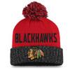 Chicago Blackhawks Black Women's Iconic Beanie Pom