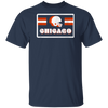 Chicago Football Retro 70's T-Shirt