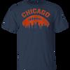 Chicago Football Skyline T-Shirt