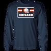 Chicago Football Retro Long Sleeve T-Shirt
