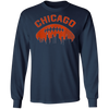 Chicago Football Long Sleeve T-Shirt
