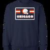 Chicago Football 70's Retro Crewneck Sweatshirt