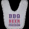 BBQ Beer Freedom Baby Bib