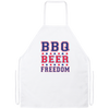 BBQ Beer Freedom Apron
