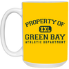 Green Bay Athletic Department Gridiron Coffee Mug