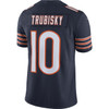 Mitchell Trubisky Chicago Bears Home Men's Vapor Limited Jersey