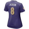 Lamar Jackson Baltimore Ravens Alternate Women's Game Jersey