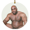 Barry Wood Circle Ornament