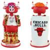 Chicago Bulls Benny the Bull Mascot 6-Time NBA Champions Bobblehead