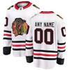 Chicago Blackhawks Road Breakaway Custom Jersey
